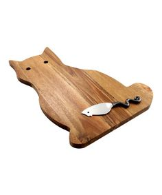 Acacia Cat Serving Board & Mouse Spreader Includes board and spreader Board: W x H Acacia wood / zinc alloy Cat Lover Gifts, Cat Gifts, Cat Lovers, Crazy Cat Lady, Crazy Cats, I Love Cats, Cool Cats, Chat Kawaii, Little Presents