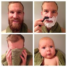 [Humor] The magic of shaving. Memes Humor, Funny Memes, Jokes, Funny Posts, Funny Shit, Hilarious, Fun Funny, Beard Quotes, Beard Humor
