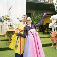 한복 Hanbok : Korean traditional clothes[dress] #wedding