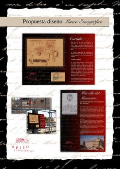 Propuesta diseño cartelería Museo Etnográfico Talavera de la Reina