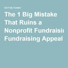 The  Rules Of Successful Annual Appeal Fundraising Letters By Joe