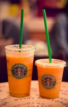 Orange Starbucks Drink