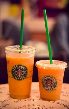orange drink starbucks frappuccino mocha and starbucks on 12174