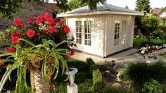 Eine tolle Wohlfühloase für jeden Garten: Unsere Kunden, die Familie Sigmund, präsentieren ihr neues sonderangefertigtes Teehaus.  #gartenhaus #teehaus #pavillon  http://www.blockhaus-24.de/shop/gartenhaus-auf-mass/gartenhaus-auf-mass/
