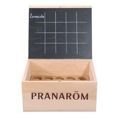 Boite de rangement huiles essentielles Pranarôm - 20 flacons - les-huiles-essentielles-bio