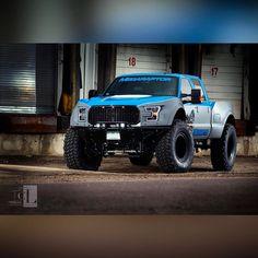 A Ford Mega Raptor Ford Diesel, Diesel Trucks, Cool Trucks, Cool Cars, Muscle Truck, Truck Quotes, Combustion Chamber, Big Bertha, Ford Pickup Trucks