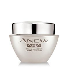#Avon's Anew AHA Refining Cream. On sale at www.deannasbeautyonline.com. #skincare #antiaging