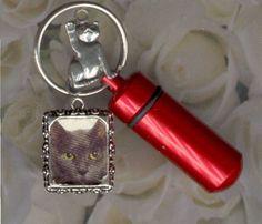 DTE,Key Chain Urn,Pet Urn,Feline,Cat,Dog,Cremation Urn