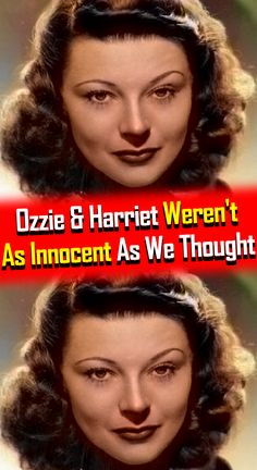 Before we had families like those seen on today's Modern Family, America had The Adventures of Ozzie and Harriet. Old Tv Shows, Movies And Tv Shows, Celebrity Caricatures, Movie Facts, Hollywood Icons, Modern Family, Movie Trailers, Weird Facts, New Movies