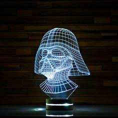 Darth Vader // Star Wars 3D LED Lamp
