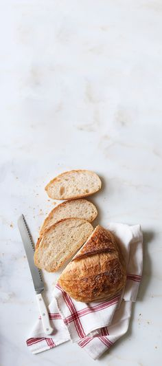 The EASIEST sourdough recipe we've ever tried. All you need: flour, water and time. Double click for directions >>
