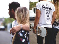 #Bali #paris #goal #couple #skateboard #riders #bracelet