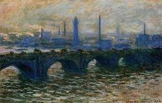 CLAUDE MONET Waterloo Bridge 1902