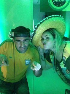 Dj Aline Bello e Dj Rodrigo Flores World Cup Brasil 2014