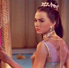 Rita Moreno as Tuptim in The King and I.  My favorite character, and since I was a little girl I've thought she was one the most gorgeous women ever.