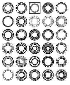 Download free custom shapes for Photoshop and Photoshop Elements by Shelby Kate…