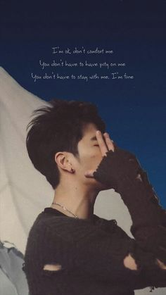 Bts Wallpaper Lyrics, Ikon Wallpaper, Wallpaper Quotes, Song Quotes, Life Quotes, Nct, Ikon Kpop, Koo Jun Hoe, Celebrities