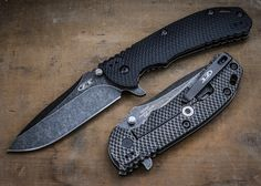 Zero Tolerance: ZT0560BW - Hinderer Sweet Jesus do I want this blade!
