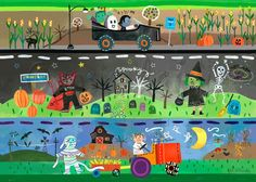 Halloween - Placemats | Oopsy daisy