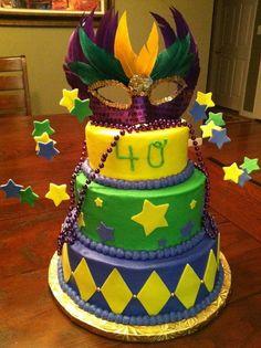 Mardi Gras Cake Ideas | Mardi Gras King Cake Ideas_32