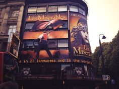 You can't go to London without catching a West End musical. Les Miserables is my absolute favourite - and it's been running for 25 years here!