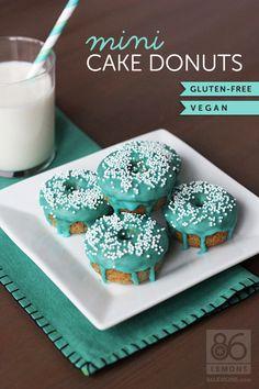 Mini Cake Donuts