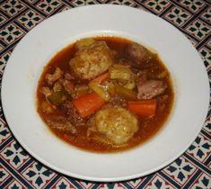 Game casserole with dumplings (slow cooker recipe)