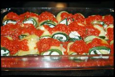 Witchery in the Kitchen: Zucchini Rolls-Ups