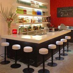 barra de bar  | Decoración de Bares, Restaurantes