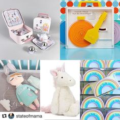 #Repost @stateofmama Living out my own childhood dreams shopping for Elsie's 1st Birthday (& Christmas...yes I said it ) presents #dreampresents #firstbirthdaygift #girlgiftideas #firstbirthday #fisherprice #jellycatunicorn #rockandfloss #retrokids