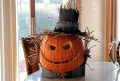 winning pumpkin carving ideas - Google Search - I just like this idea, did not go into the site