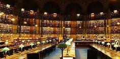 National Library of France #Paris vía El placer de la lectura