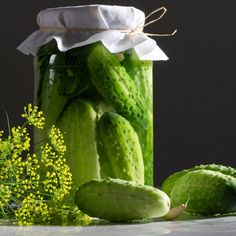 A simple recipe for flavorful garlic and dill pickles.Homemade dill pickles just like grandmother makes.. Dill Pickles Recipe from Grandmothers Kitchen.