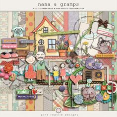 Nana & Gramps | Collab Bundle  http://the-lilypad.com/store/Nana-and-Gramps-collab.html