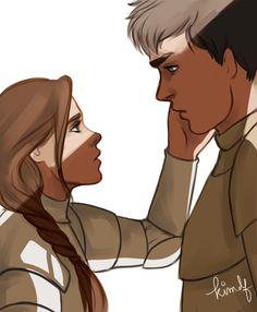 Arya & Gendry older