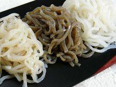 Diferença entre itokonnyaku e shirataki