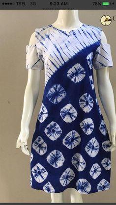 Batik Fashion, Diy Fashion, Fashion Boutique, Mode Batik, Shibori Tie Dye, How To Tie Dye, Kurti Designs Party Wear, Batik Dress, Embroidery Fashion