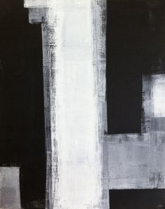 Acrylic Abstract Art Painting Black Grey and White ...BTW,Check this out: http://artcaffeine.imobileappsys.com