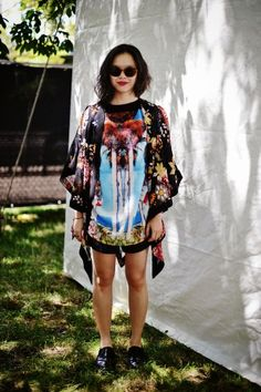 Lollapalooza street style in 19 snaps. Photos by Nina Westervelt.