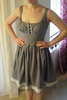DIY Clothes DIY Refashion DIY Made my own Mod Cloth dress