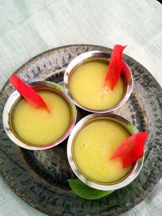 raw mango tropical smoothie #cool #drinks #summer #foodphotography #indianfood