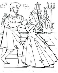 Sleeping Beauty Coloring Pages Ballet Free