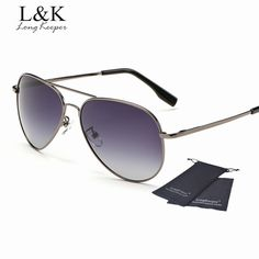 45ebef597f886 Long Keeper Classic Polarized Sunglasses Women Men Driving Sun Glasses  Metal Alloy Pilot Style Gafas Oculos. Óculos PolarizadoPilotÓculos De Sol  ...