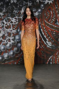 Jenny Packham Ready To Wear Fall Winter 2015 New York