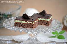 Brownies cu menta Mint Brownies, Cheesecake, Cupcakes, Desserts, Peppermint Brownies, Cheesecake Cake, Postres, Cupcake, Deserts