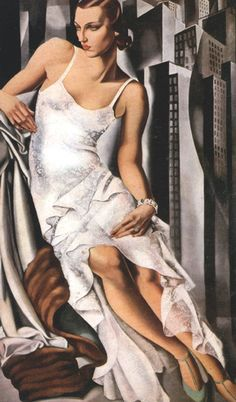 Tamara de Lempicka Portrait of Mrs Alan Bott 1930