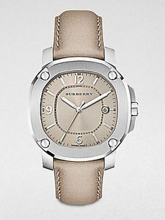 d06d1e071a8 Burberry Britain Unisex Stainless Steel Date-Function Watch Trench Burberry  Watch