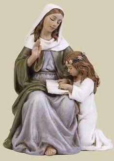 Saint Joseph's Studio St. Anne * Saint Catholic Figurine Patron
