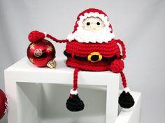 30 Besten Häkeln Weihnachten Nikolaus Bilder Auf Pinterest