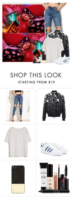 """""""'Nobody's Child' Photoshoot with Gemma"""" by xcuteniallx ❤ liked on Polyvore featuring Dsquared2, Fine Collection, adidas Originals, Zero Gravity and Smashbox"""